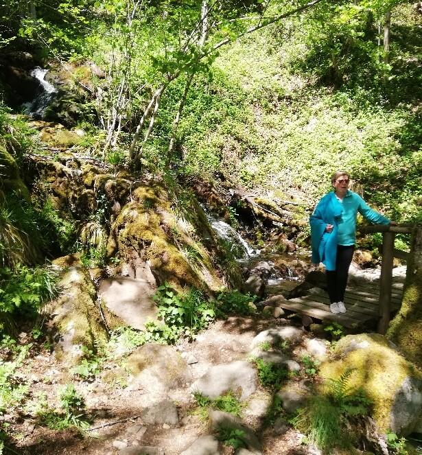 Ballade à la cascade du Pendant Pré, dans la vallée du Chajoux à La Bresse